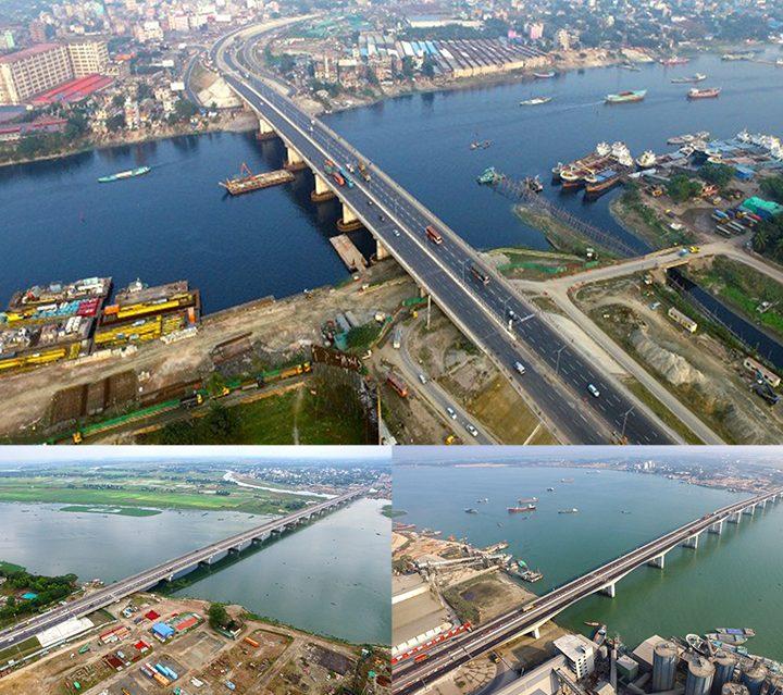 Kanchpur Meghna Gumti New Bridge Construction And Old Bridge Repair Work Has Won The Technology Award Of Japan Socity Of Cvil Engineers (JSCE) Awards 2021.